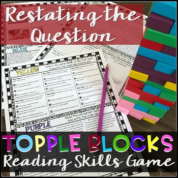 Restating the Question Game