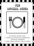 Decimals Restaurant - Authentic Assessment