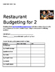 Restaurant Budgeting Packet