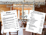 Restaurant Design Project for Intro to Culinary