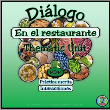 Restaurant Dialogue - En el restaurante