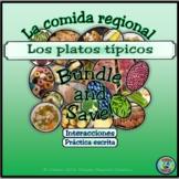 Restaurant Dialogue Plus Regional Food and Meal Vocabulary Bundle