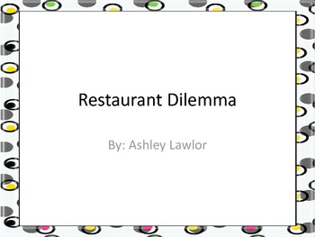 Restaurant Dilemma