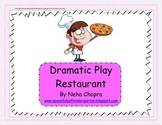Dramatic Play- Restaurant