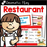 Restaurant Dramatic Play