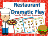 Restaurant Dramatic Play Bundle {3 Sets}