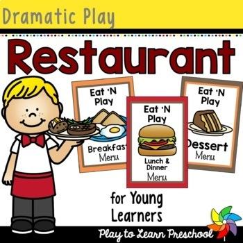 Restaurant Dramatic Play