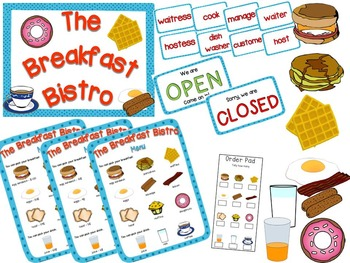 Restaurant Dramatic Play {The Breakfast Bistro}