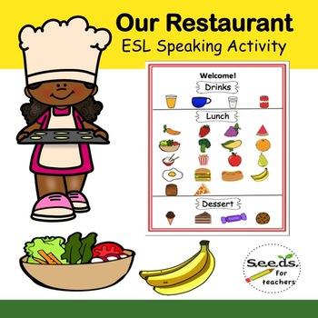 Restaurant ESL Activity