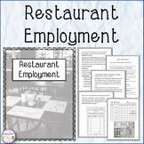 Restaurant Employment
