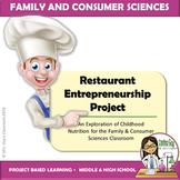 PBL Restaurant Entrepreneurship Project FACS FCS