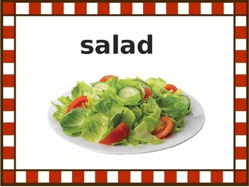 Restaurant Food - ESL / EFL Powerpoint Presentation & Game