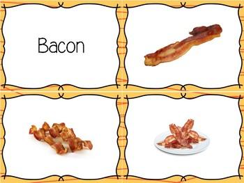 Restaurant Food Flashcards