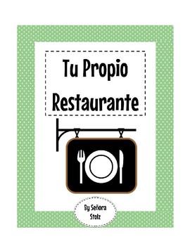 Restaurant/Food Project: Tu Propio Restaurante