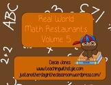 Restaurant Math: Volume 5