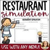 Restaurant Menu Simulation