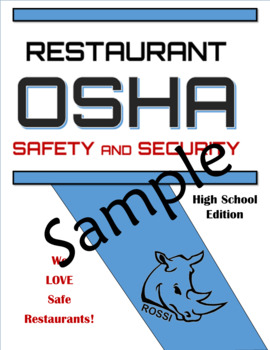 Restaurant OSHA Safety and Security Sample Pack