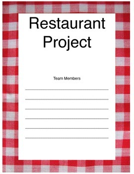Restaurant Project (A Simulation Activity)