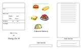 Restaurant Review Brochure Template
