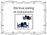 Restaurant Social Story