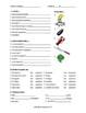 Restaurant Spanish Vocabulary Worksheets (Así Se Dice Lev 2, Chapter 4)