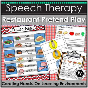 Restaurant Pretend Play