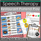 Restaurant Dramatic Play: Speech and Language Therapy