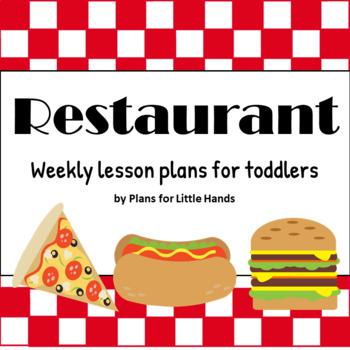 Restaurant Toddler Lesson Plan