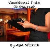 Vocational Unit Restaurant