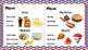 Restaurant Writing Center 4th of July! Literacy, Reading, Writing and Food