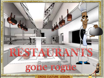 Restaurants gone rogue -  conversation lesson for ESL adults and kids