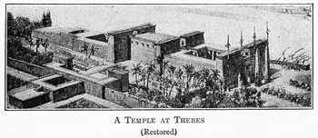 Restoration of Temple at Thebes