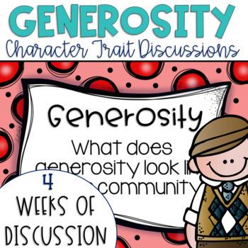 Restorative Circles Character Trait Discussions on Generosity