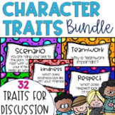 Restorative Circles Character Trait Discussions GROWING BUNDLE