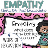Restorative Circles Daily Character Trait Discussions on Empathy {Editable}