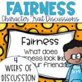 Restorative Circles Daily Character Trait Discussions on Fairness {Editable}