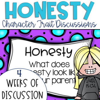 Restorative Circles Daily Character Trait Discussions on Honesty {Editable}