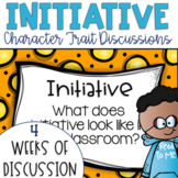 Restorative Circles Daily Character Trait Discussions on Initiative {Editable}