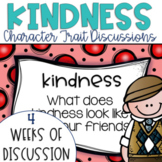 Restorative Circles Daily Character Trait Discussions on Kindness {Editable}