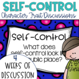 Restorative Circles Character Trait Discussions on Self-Control Editable