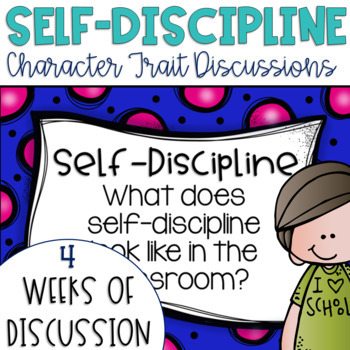 Restorative Circles Daily Character Trait Discussions on Self-Discipline {Edit}