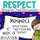Restorative Circles Daily Character Trait Discussions on Respect {Editable}