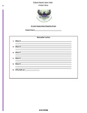 Restorative Discipline Documentation Handout