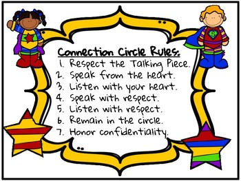 Restorative Justice Connection Circle Guidelines/Rules