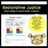 Restorative Justice Think Sheet