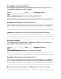 Restorative Justice Worksheet