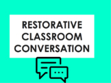 Restorative Justice in the Classroom: Restorative Classroo
