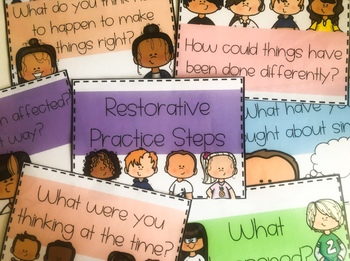 Restorative Practice Steps