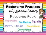 Restorative Practices & Classroom Circles Resource Pack
