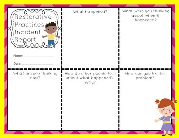 picture about Restorative Justice Printable Worksheets called Restorative Routines Thoughts Worksheets Coaching